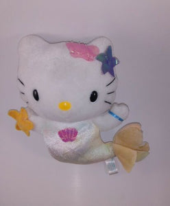 HELLO KITTY MERMAID PLUSH STUFFED ANIMAL 12""