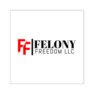 Felony Freedom Logo Stickers