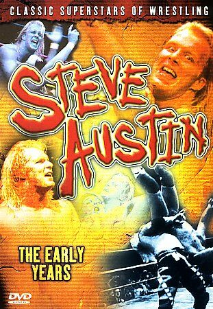 Steve Austin The Early Years DVD Classic Superstars of Wrestling