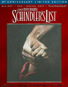 Schindler's List [ 20th Anniversary Limited Edition ] (Blu-ray + DVD) NEW IN BOX