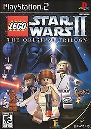 Lego Star Wars 2 The Original Trilogy Playstation 2 Video Game PS2
