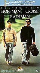 Rain Man VHS Movie Tape 1988