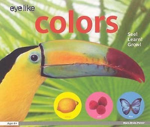 EyeLike Colors Children's Book