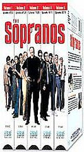 Load image into Gallery viewer, THE SOPRANOS Complete Season 1 - 5 VHS Boxed Set James Gandolfini