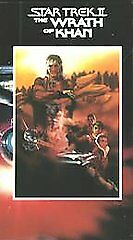 Sealed 1982 Star Trek 2 The Wrath Of Khan VHS Paramount Logo. ** FOR COLLECTORS*