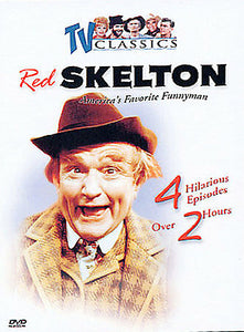 Red Skelton Am,erica's Favorite FunnymanTV Classics 2- Diisc DVD Box Set