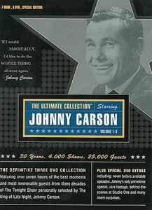 NIP Johnny Carson The Ultimate Collection & Animal Hijinks 4 DVD Set Unopened!