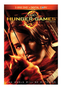 The Hunger Games DVD 2 Disc + Digital Copy