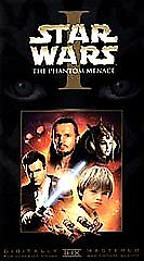 Star Wars 1 The Phantom Menace VHS