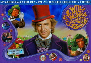 Willy Wonka and the Chocolate Factory 40th Anniversary Boxset Limited Edition