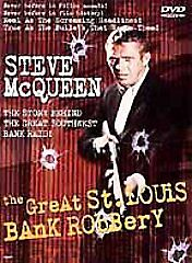 Steve McQueen The Great St. Louis Bank Robbery DVD - Super Jewei Box