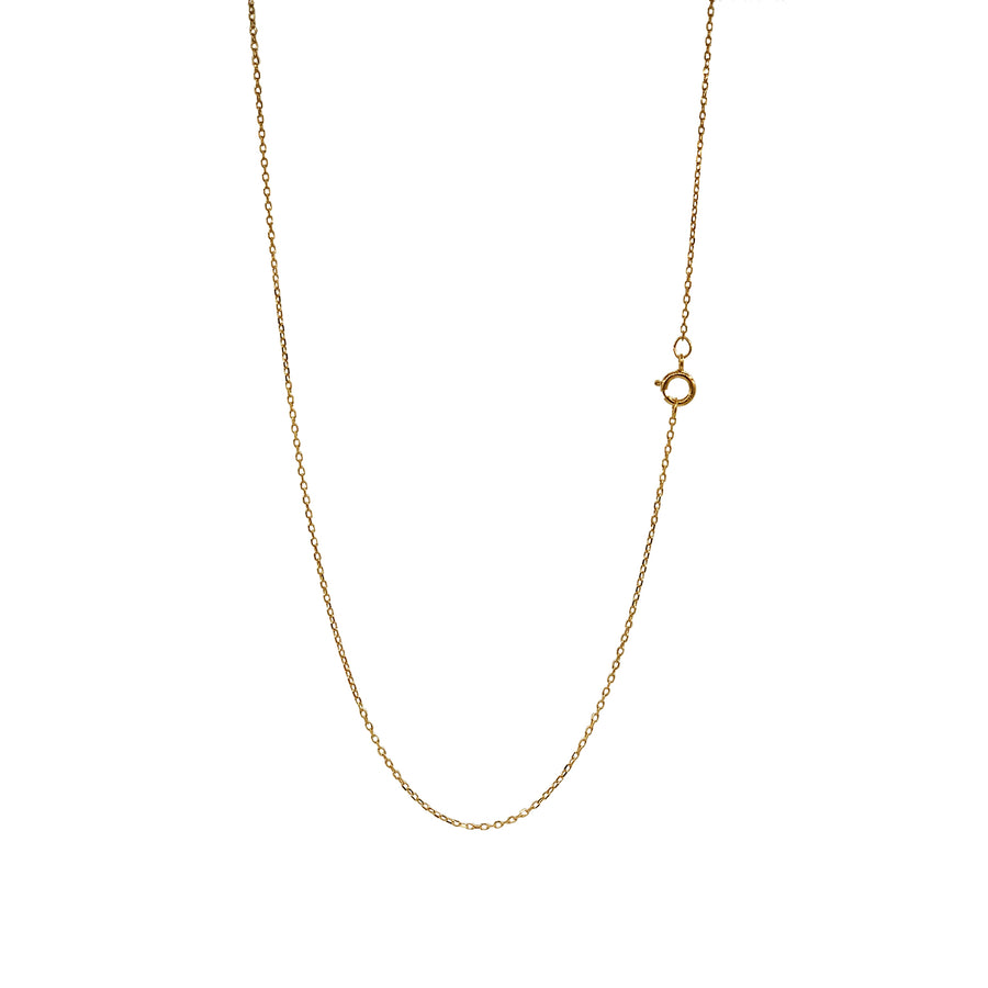 Yellow Gold Diamond Cut Chain