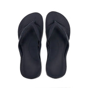 ARCH SUPPORT THONGS - NAVY