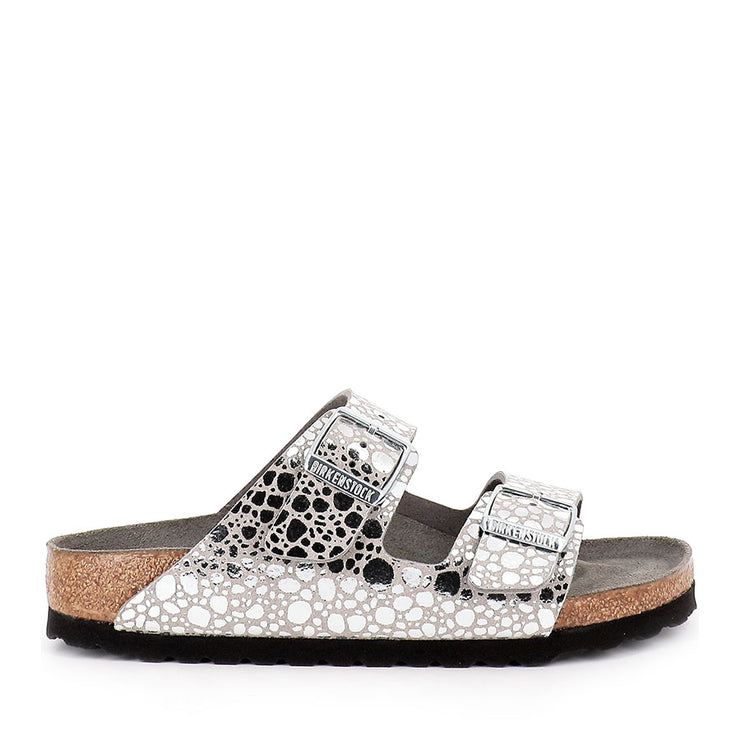 ARIZONA METALLIC NARROW - SILVER GRY