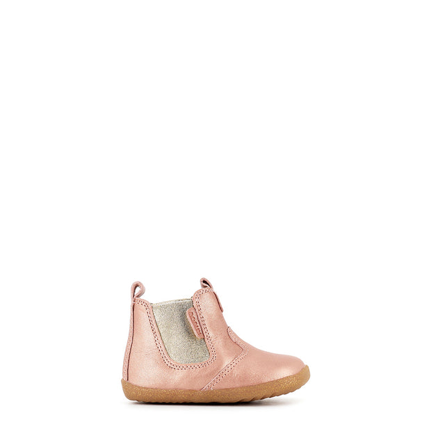 JODPHUR STEP UP - ROSE GOLD LEATHER