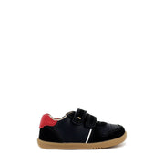 RILEY I WALK - NAVY/RED LEATHER