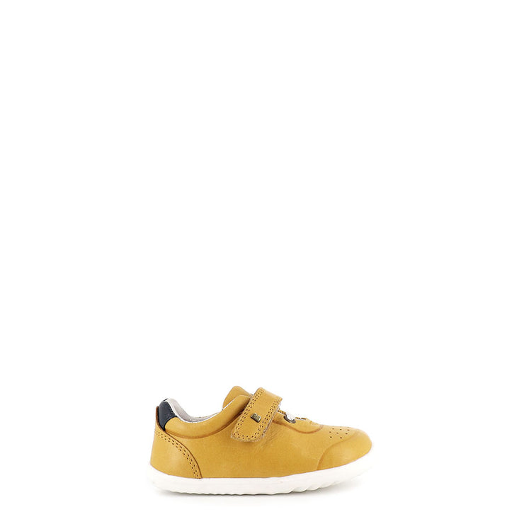 RYDER STEP UP - CHARTREUSE/NAVY LEATHER