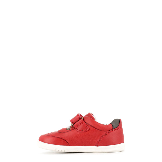 RYDER I-WALK - RED/CHARCOAL LEATHER