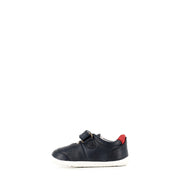 RYDER STEP UP - NAVY/RED LEATHER