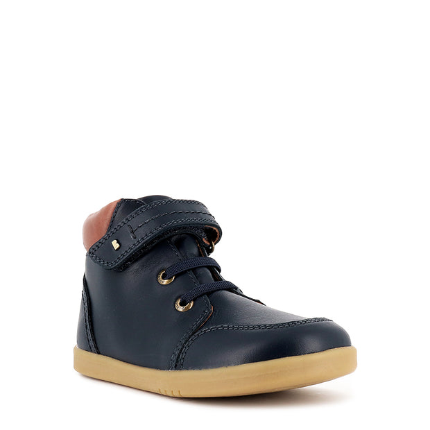 TIMBER KID+ - NAVY LEATHER