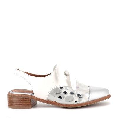 AMBOR - WHITE ASTROID LEATHER