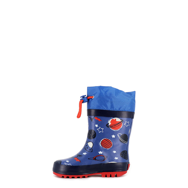 PUDDLES E - BLUE/RED PLANETS
