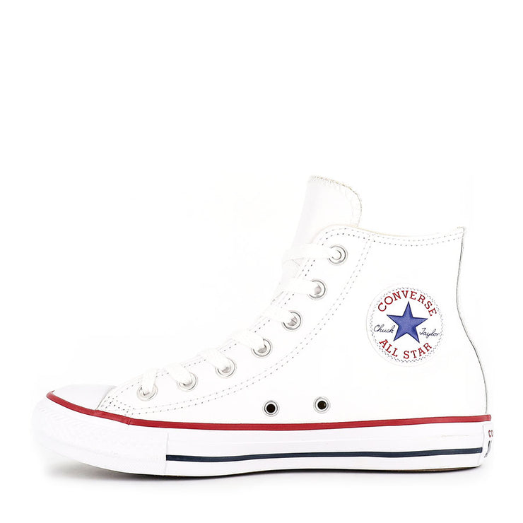 ALL STAR HI LEATHER - WHITE
