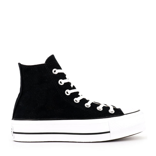 ALL STAR LIFT HI CORE - BLACK WHITE BLACK