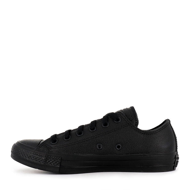 ALL STAR LOW LEATHER - BLK MONO