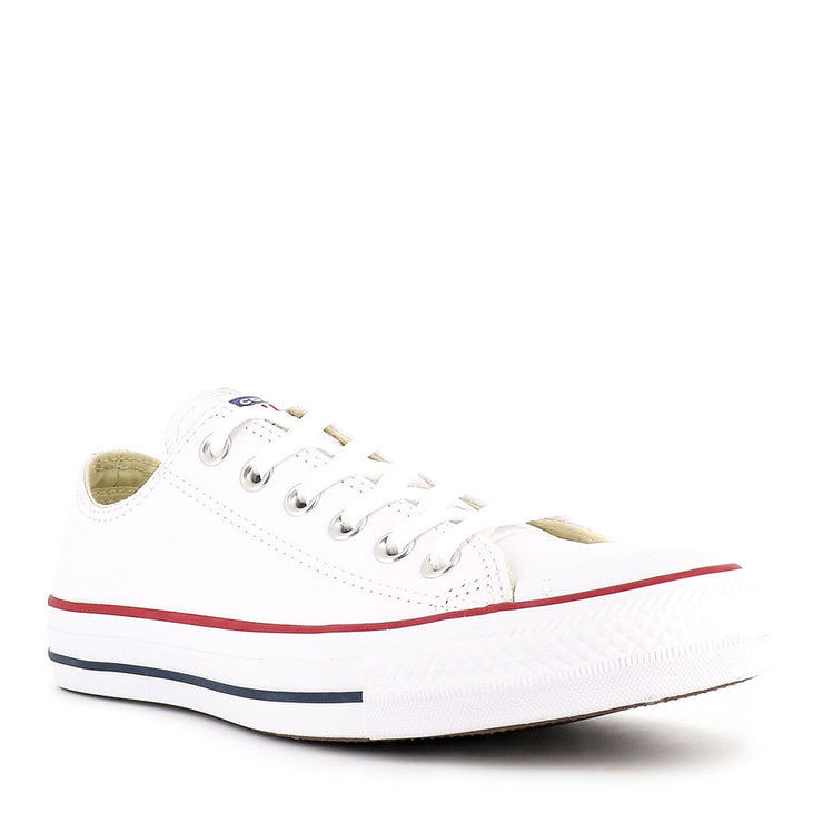 ALL STAR LOW LEATHER - WHITE