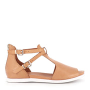 CHESSIE - DARK TAN LEATHER