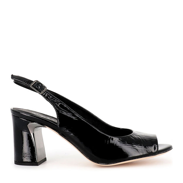 KIANNA - BLACK PATENT LEATHER