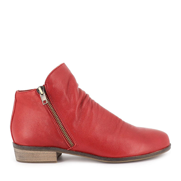 SPLIT - RED LEATHER