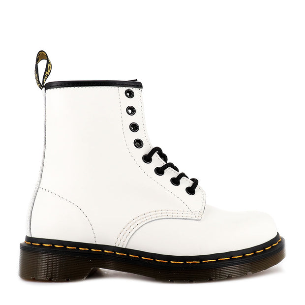 8 UP 1460 - WHITE SMOOTH LEATHER