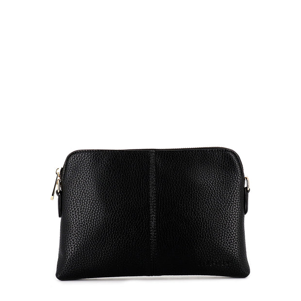 WALLET BOWERY - BLK PEBBLE