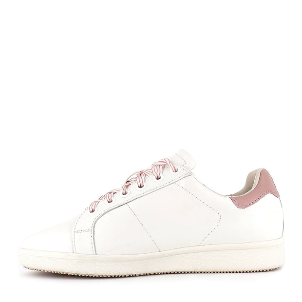 JACKIE - WHITE SOFT PINK LEATHER
