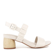 MOLLIE - CHALK REPTILE LEATHER