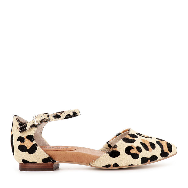 AINSLEY - CREAM LEOPARD