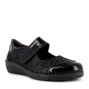 GIJON 43305 - BLACK PATENT LEATHER