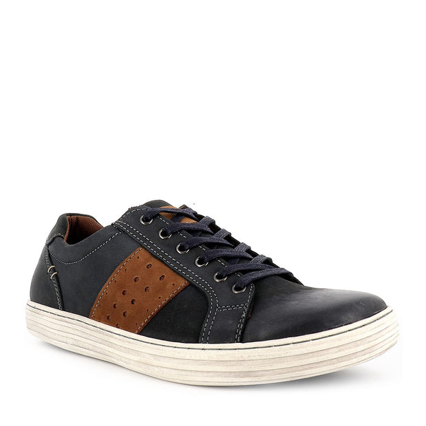 LENNOX - NAVY/TAN