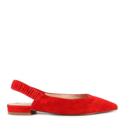 DELPHINE - RED SUEDE