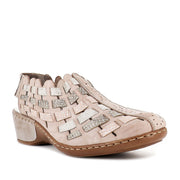 GENDER-47156 - GREY MULTI LEATHER