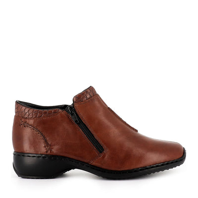 LISALA-L3882 - BROWN LEATHER