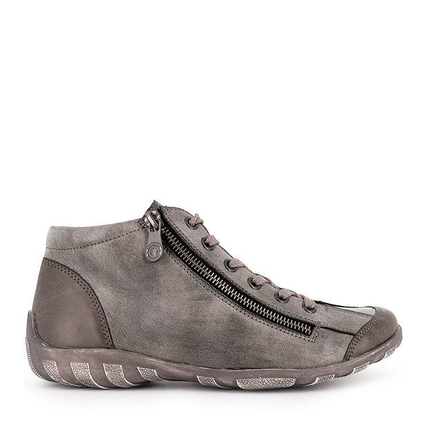 ROYAN-R3475 - GREY COMBO LEATHER