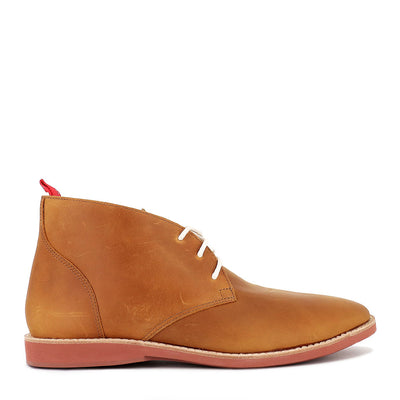 CHUKKA (M) - COGNAC BRICK LEATHER