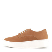 DERBY CITY LACEUP - TAN BURNISH LEATHER