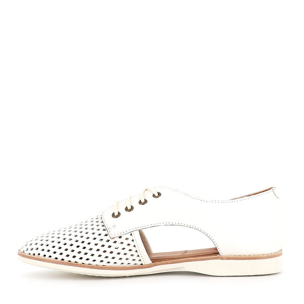 SIDECUT PUNCH - SPORTS WHITE LEATHER