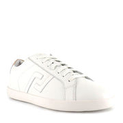 SNEAKER PRIME - WHITE GOLD LEATHER