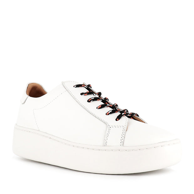 CITY SNEAKER - WHITE LEATHER