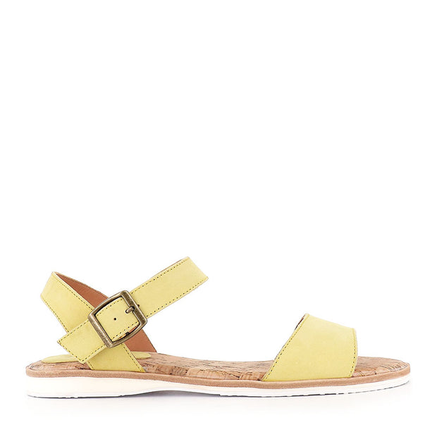 SANDAL - YELLOW LEATHER